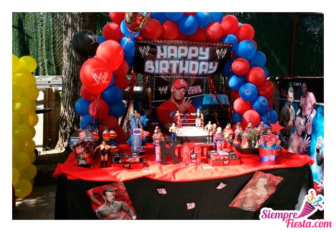82 Best Wwe Party Ideas Images On Pinterest Wwe Party