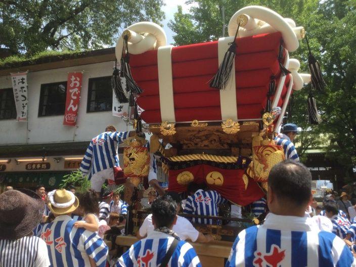 石切劔箭神社・夏祭り (東大阪市) / 2016年8月4日 - kazu1000のブログ / 社寺仏閣巡り