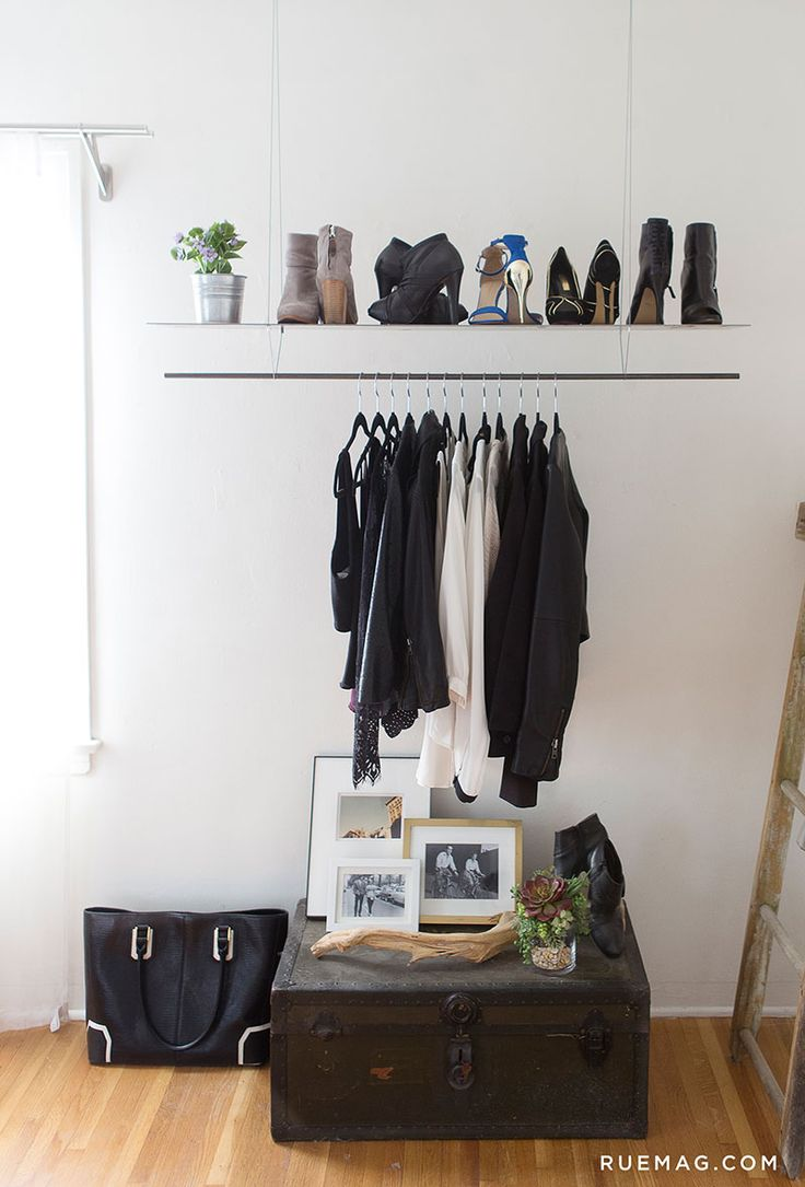 Best 25 simple closet ideas on pinterest wardrobe ideas open wardrobe and small walk in - Wardrobe for small spaces minimalist ...