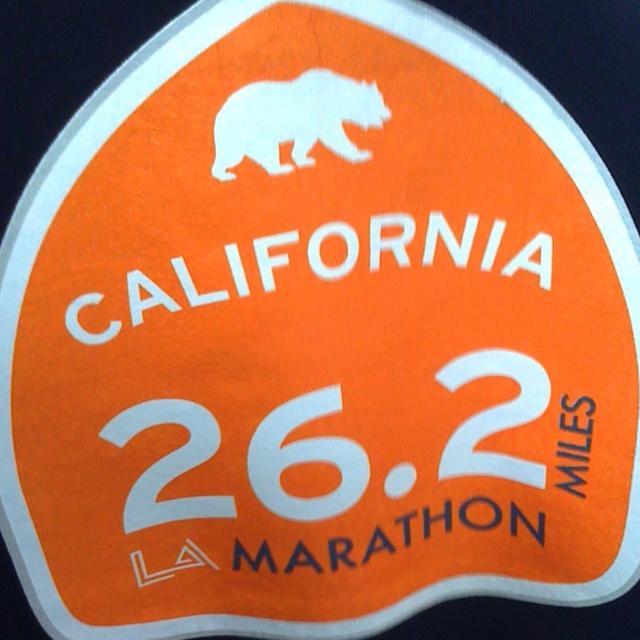 LA marathon ~ Cant wait until March