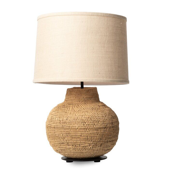 Buhera Basket 24 Table Lamp In 2020 Table Lamp Lamp Boho Lamp