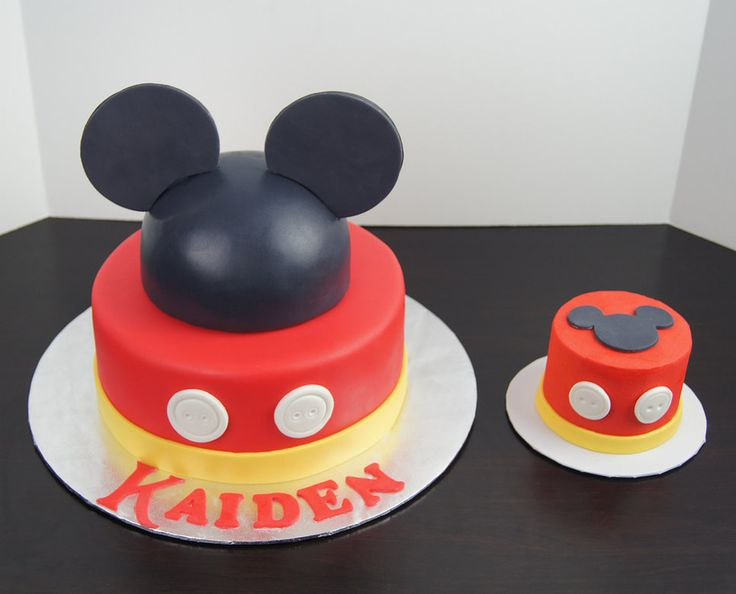 ... Mickey Mouse Cake And Smash Cake ...