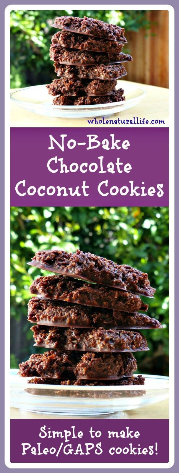 These no-bake chocolate coconut cookies are honey-sweetened and suitable for the GAPS and Paleo diets. Try these easy freezer cookies today!