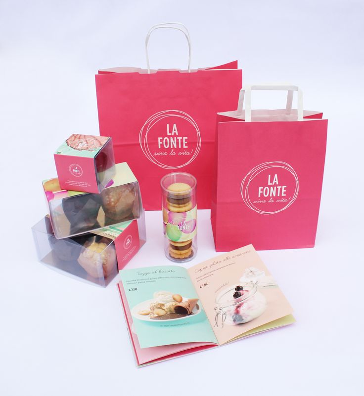 Brand Identity and packaging for La Fonte