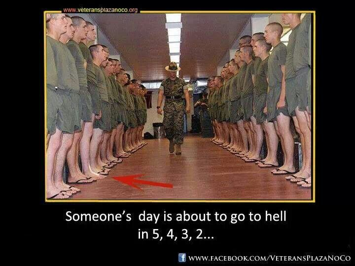 Marine Recruits, someones day is about to get ruined  USMC | boot camp | Drill instructor