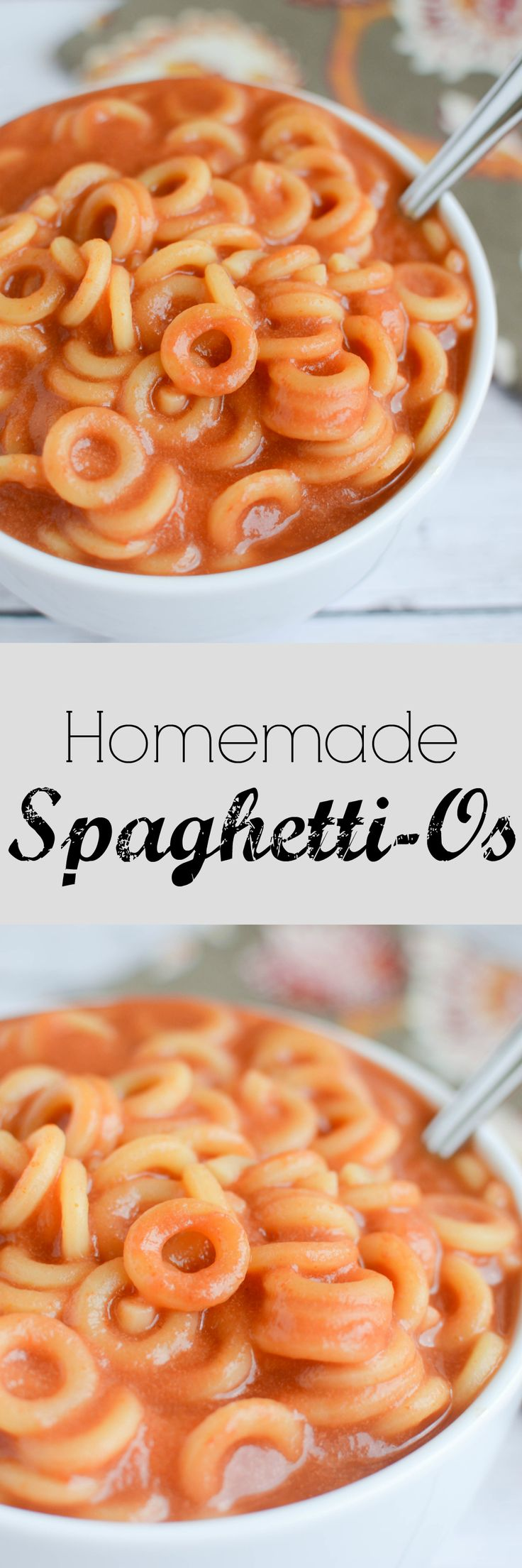 Homemade Spaghetti-Os Recipe via @fakeginger