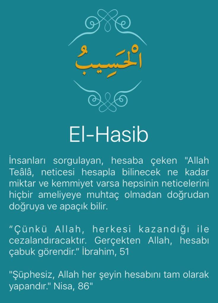 """İnsanları sorgulayan, hesaba çeken """"Allah Teâlâ, neticesi hesapla bilinecek ne kadar miktar ve kemmiyet varsa hepsinin neticelerini hiçbir ameliyeye muhtaç olmadan doğrudan doğruya ve apaçık bilir.   """"Çünkü Allah, herkesi kazandığı ile cezalandıracaktır. Gerçekten Allah, hesabı çabuk görendir."""" İbrahim, 51   """"Şüphesiz, Allah her şeyin hesabını tam olarak yapandır."""" Nisa, 86"""""""