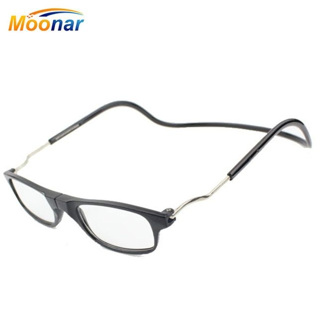 e371302586 Magnetic Reading Glasses Men Women Hanging Neck Folding Glasses Magnetic  Eyeglass Plastic Frames magnet Gafas De Lectura Oculos Review