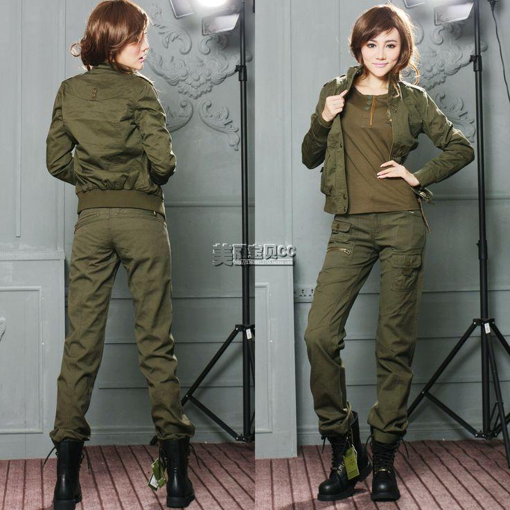 Брюки женские милитари