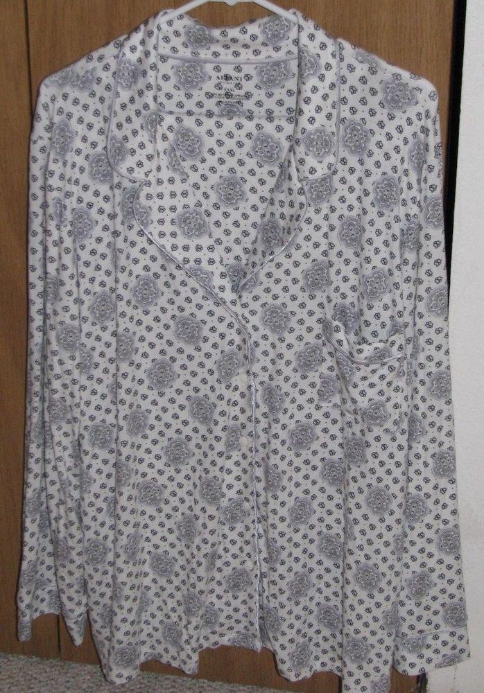 62f3e07cbcdb Details about Alfani Intimates 2 Piece 3XL Sleepwear Black Gray Sensually  Soft Pajama Set | CHECK THIS OUT! | Pinterest | Pyjama sets and Pyjamas