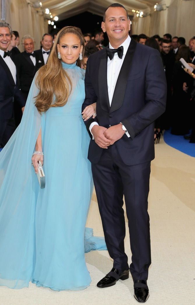 Jennifer Lopez and Alex Rodriguez - click through for more best-dressed couples at the 2017 Met Gala