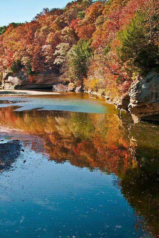 Sugar Creek Turkey Run State Park Indiana