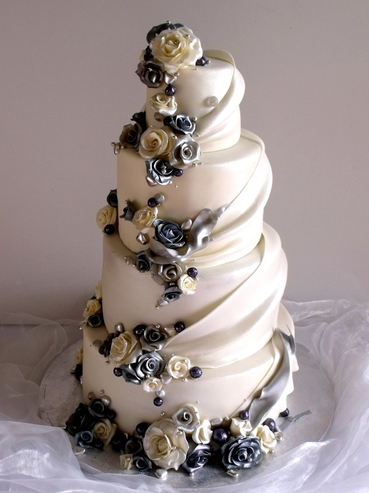 silver wedding cakes photos 18 best images about silver weddings on dress 19889