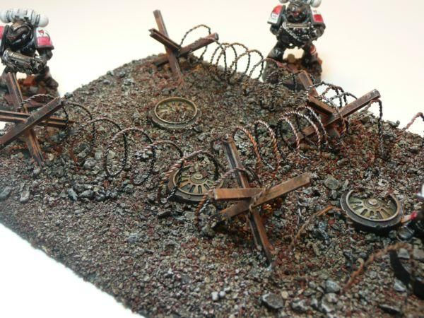 Urban Basics for Warhammer 40K...rust base coat with grey dry brush