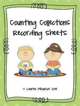 Counting Collection Recording Sheets -Free!