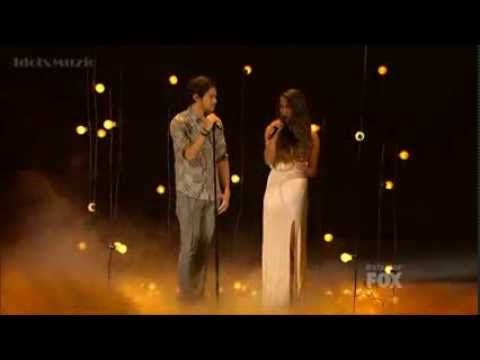 Alex and Sierra - Gravity - X Factor USA 2013 (Top 4)