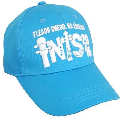 Fleadh Inis 2016 Merchandise - celebrate Fleadh Cheoil na hÉIireann coming to Ennis in style! Azure Blue Cap €15 WowWee.ie