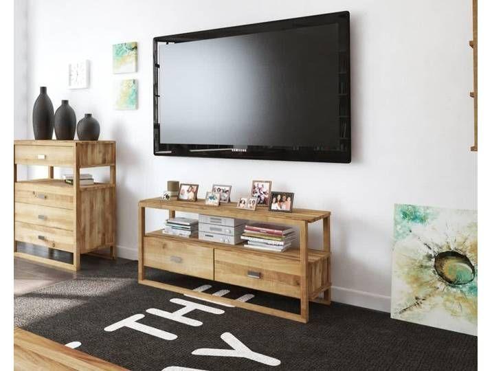 The Beds Minimal Massivholz Tv Lowboard 2113 B 125 X H 58 X T 45