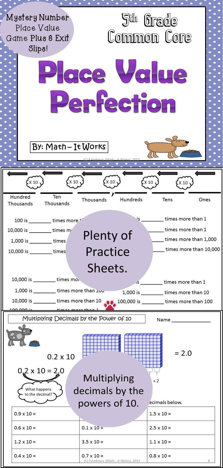 worksheet Place Value Practice 15 best place value images on pinterest teaching ideas math and perfection is a great supplemental unit to teach your graders reason about the magnitude of numbers tons prac