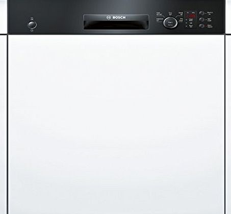 Bosch Serie 4 SMI50C16GB Semi Integrated 12 Place Full-Size Dishwasher in Black The ActiveWater dishwasher with height-adjustable top basket: Gives you extra space for large and bulky items. VarioSpeed: cleans in up to half the time with optimum clea (Barcode EAN = 4242002861852) http://www.comparestoreprices.co.uk/december-2016-week-1-b/bosch-serie-4-smi50c16gb-semi-integrated-12-place-full-size-dishwasher-in-black.asp