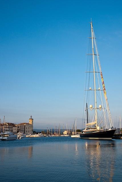 La Ciotats Port at Sunset - Provence-Alpes-Cote d'Azur, France
