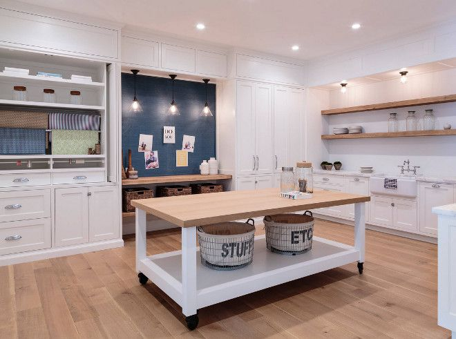 Home with Crisp Transitional Interiors