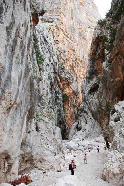 Canyon: il più bello d'Europa è in Italia e si trova in Sardegna, Su Gorroppu