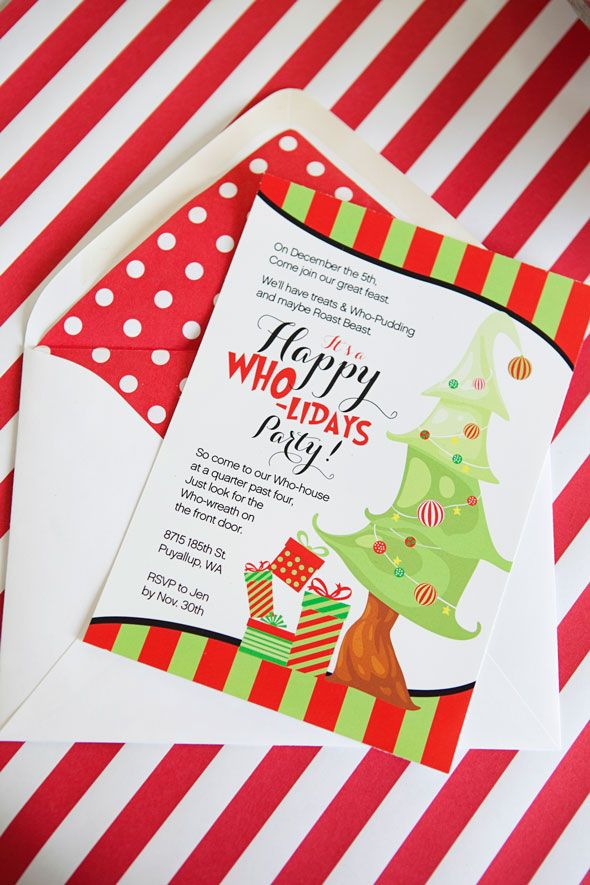 Best 25+ Holiday party invitations ideas on Pinterest Christmas - holiday party invitation