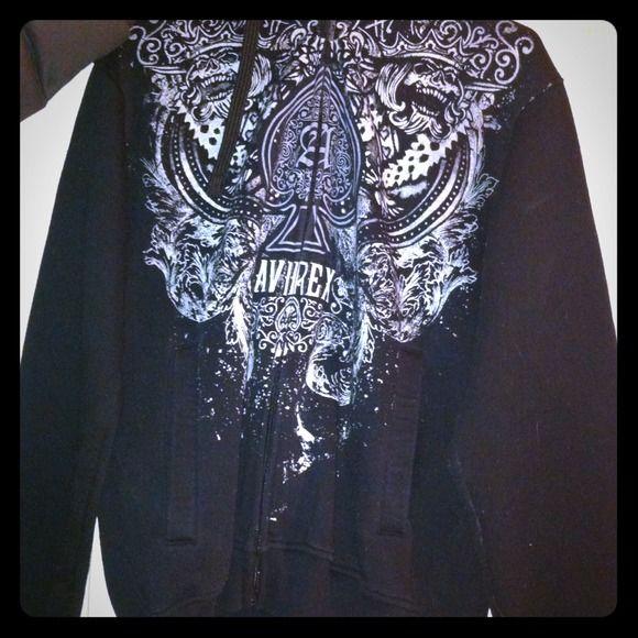 Avirex jacket. I'm not sure if its men or boys but its a medium. Worn twice. NO trades Avirex Jackets & Coats