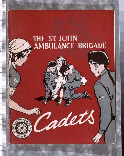 A-1950s-St-John-Ambulance-Brigade-Poster,-from-the-Museum-c    Love this poster