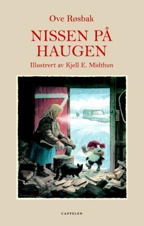 Vår pris 199,-. Nissen på Haugen er en nisse av rette slaget. Han terger katta, godprater med krøttera, grisen og hønene, og finner på alt mulig slags spik for å få folk..
