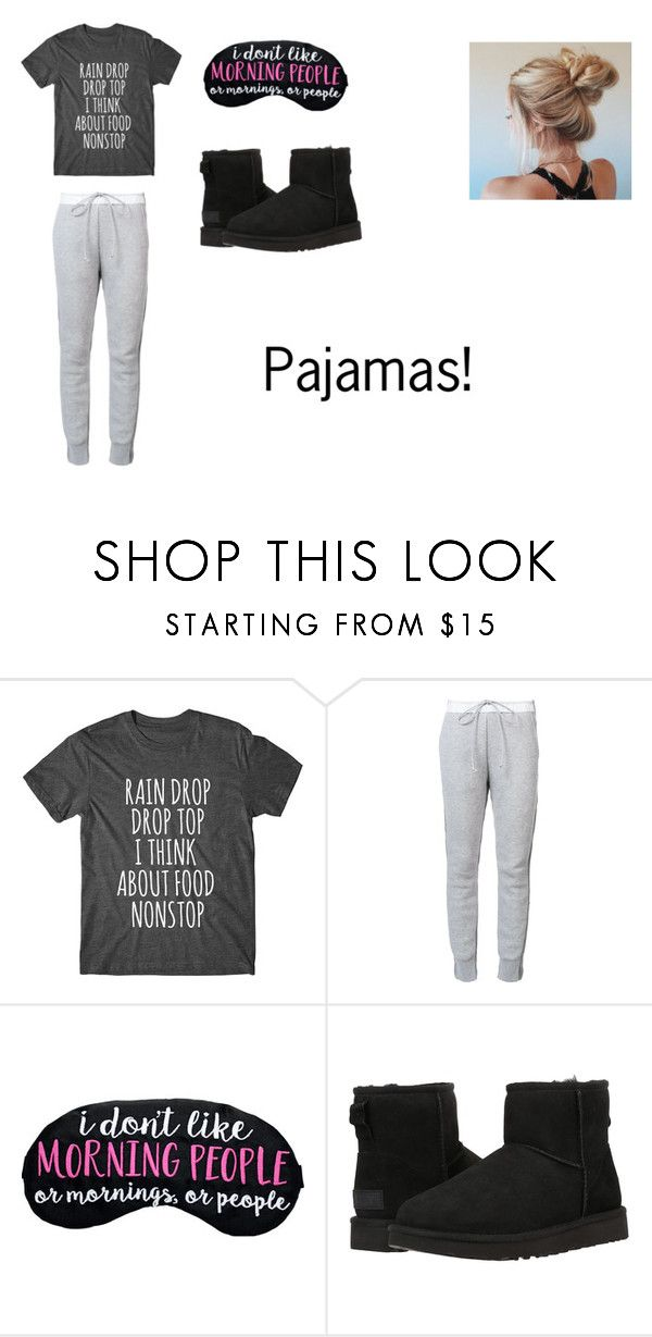 """Pajamas - chapter 1"" by courts-horan13 on Polyvore featuring Sacai and UGG Australia"