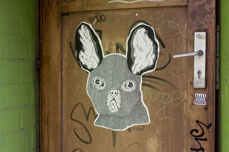 Dog sticker Berlin 2014