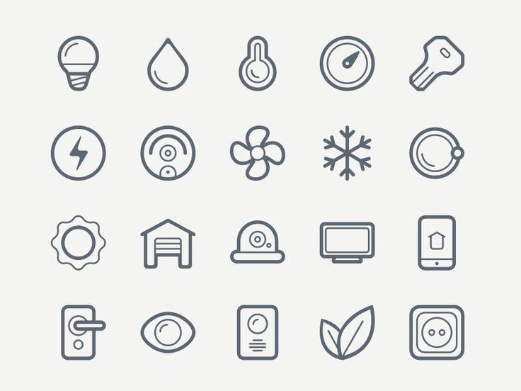 Freebie: Smart House Icon Set