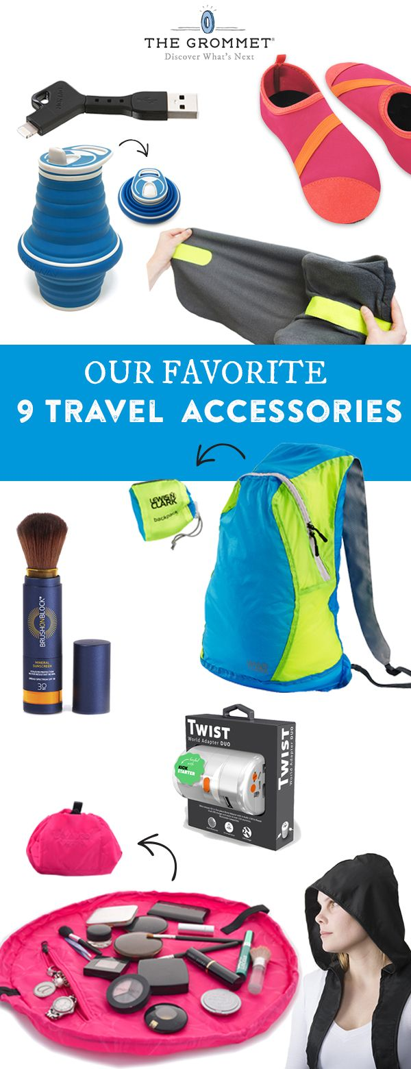 Looking for the best travel accessories? We asked our team members to share some of their go-to travel products–here are 9 we're loving. (Travel Gadgets Accessories)