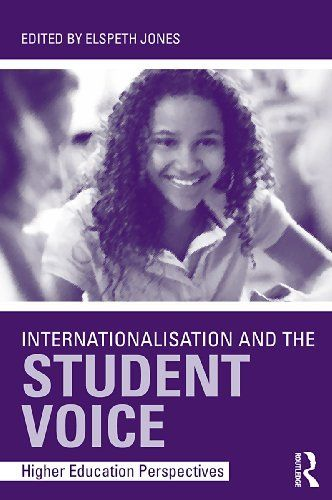 Internationalisation and the Student Voice: Higher Education Perspectives by Elspeth Jones. $17.98. Publisher: T & F Books US; 1 edition (November 5, 2009). 237 pages