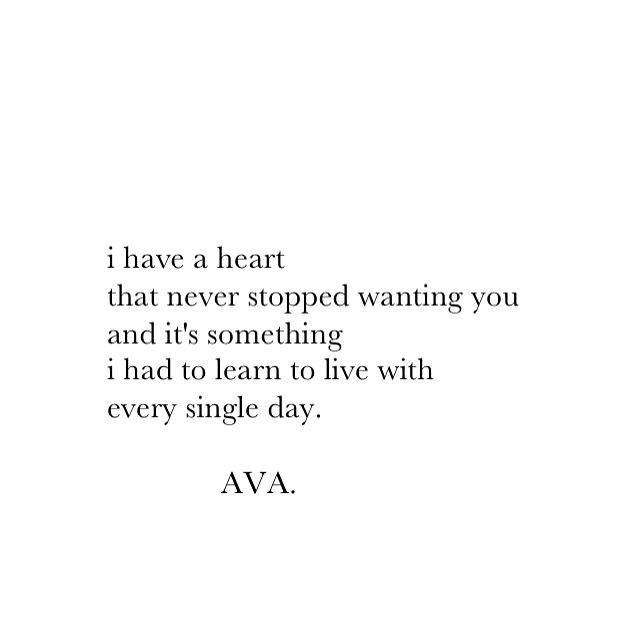 No matter what. I will always want you.