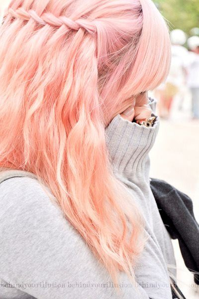 pastel orange hair tumblr - Google Search