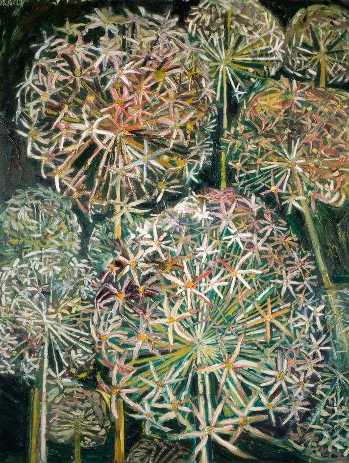 John Bratby - Flowers of Summer, 1966