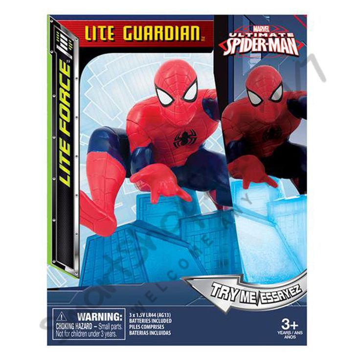 #ULTIMATE SPIDER-MAN Night Light Lite Force Lite Guardian NEW $29.99
