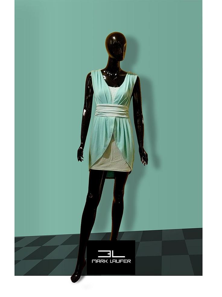 New Viscose spring dress
