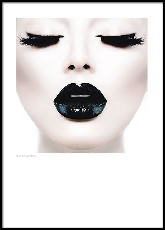 Mode-Poster zu einem trendigen Einrichtungsstil.