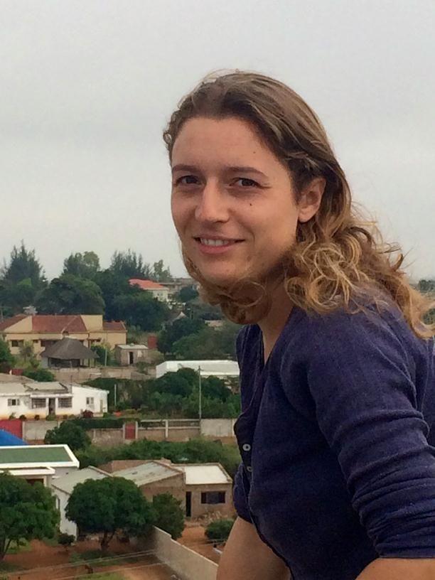 WSUP Maputo's Susie Kinghan
