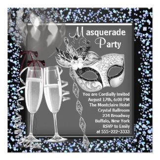 masquarade party ideas | ... Masquerade Party Gifts, Posters, Cards, and other Gift Ideas