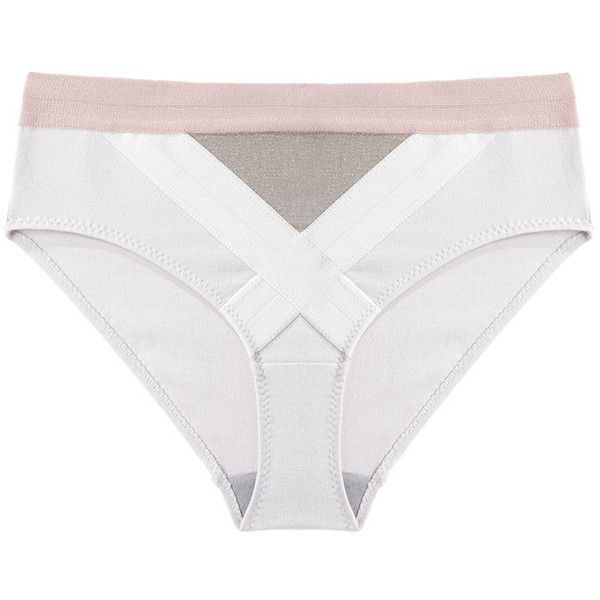 VPL Convexity Undi ($43) ❤ liked on Polyvore featuring intimates, panties, underwear, lingerie, petite, underwear panties, colorful panties, metallic panty, panties lingerie and vpl lingerie