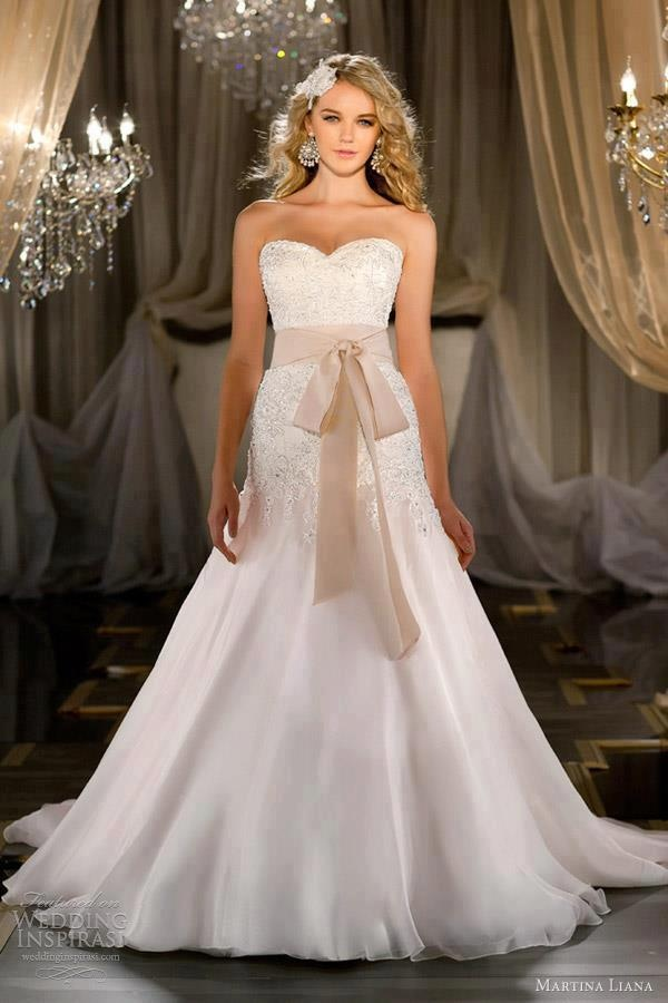 weding dress/ if only the sahs was a pale yellow... love the lace | See more about Bows, Dresses and Weding Dresses.