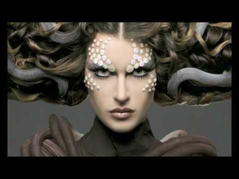 BIOMECHANICAL MAKE-UP    concept, make-up & hair stefania d'alessandro  photos autuori & carletti - photografia  haute couture by LeM