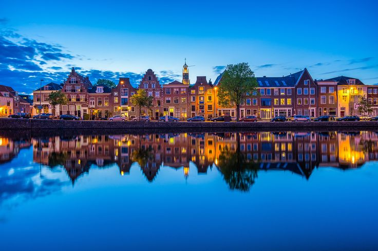 Haarlem Blue Hour by Albert Dros on 500px