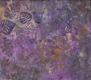 BA - 044 Col Purple Pandanus Leaf #brown #mauve #ocher #olive #plum #purple