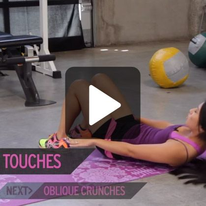 This workout will show you some of the best ab exercises for toning and slimming your waist and abs to banish that muffin top for good.   The absolute fastest way to lose belly fat   The quickest muffin top workout   9 exercises for a flat stomach...